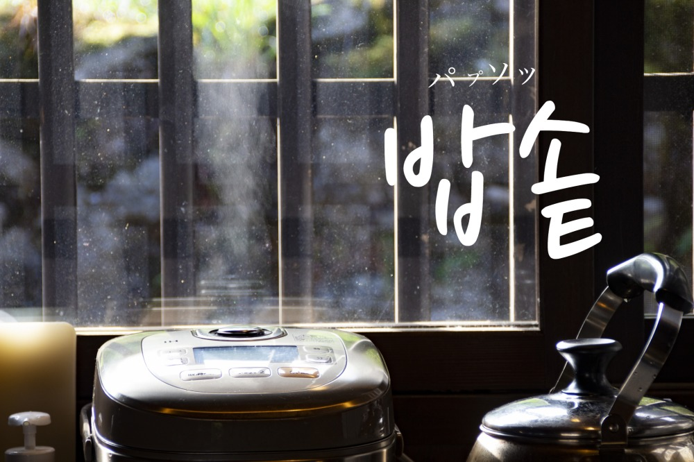 韓国語で「釜・炊飯器」の【밥솥(パプソッ)】をタメ語で覚えよう!