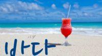 韓国語で「海(うみ)」の【바다(パダ)】をタメ語で覚えよう!