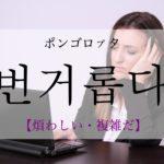 koreanword-hassle