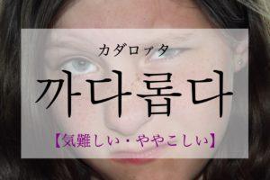 koreanword-picky