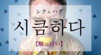 韓国語で「酸っぱい」の【시큼하다(シクムハダ)】の活用や発音・例文は?タメ語で覚えよう!