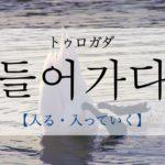 koreanword-go-in
