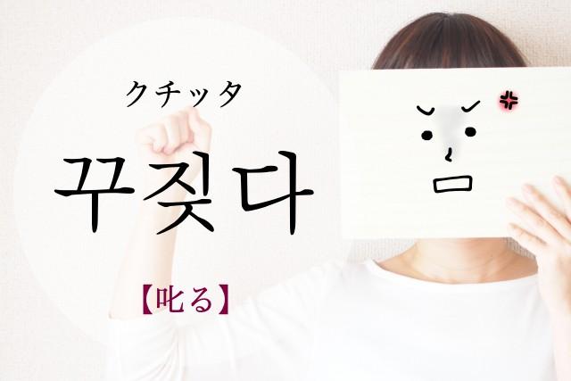 koreanword-scold