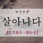 koreanword-survive