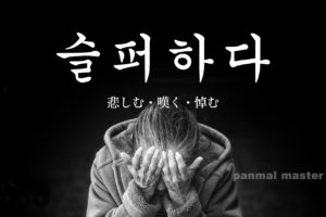 korean-words-mourn
